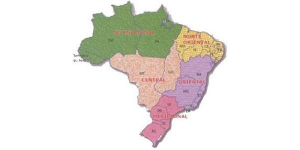 divisao do brasil 1913