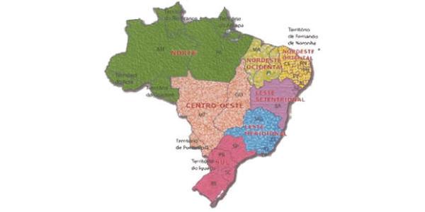 divisao do brasil em 1940