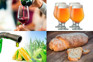 fermentação - bebida alcoólica