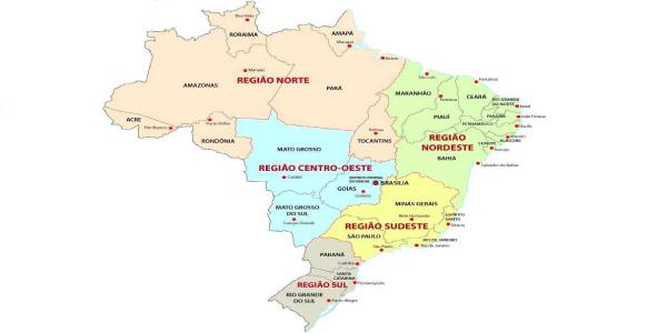 mapa-das-regiões-brasileiras
