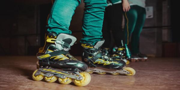 patins- terceira lei de newton