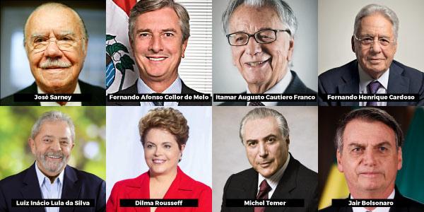 presidentes da nova república