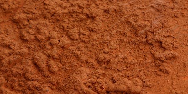Exemplo do solo argiloso para se preparar para os Exercícios sobre Tipos de Solo