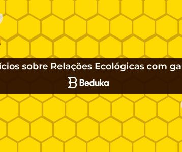 Exercícios sobre Relações Ecológicas