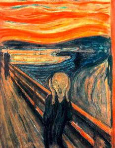 """""""O Grito"""", de Edvard Munch"""