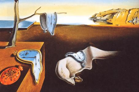 """""""A persistência da memória"""", de Salvador Dalí"""
