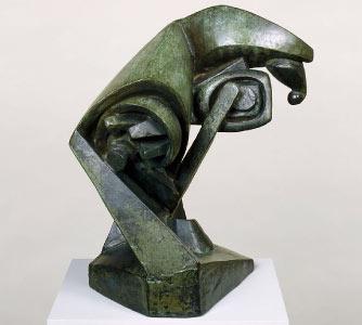 """""""O Grande Cavalo"""", de Raymond Duchamp-Villon"""