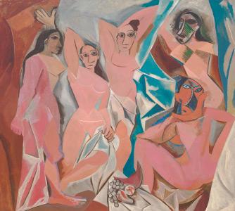 """Obra """"Les demoisellers d'Avignon"""" de Pablo Picasso"""