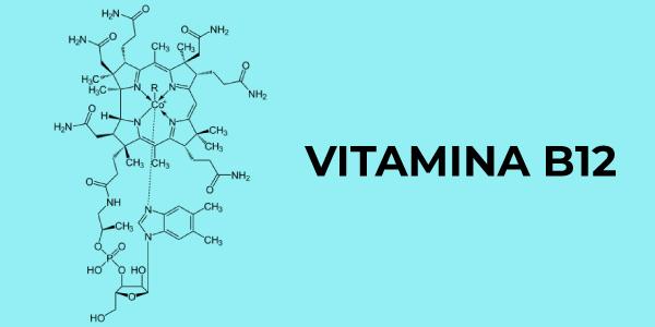 Fórmula química da vitamina B12