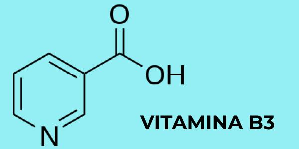 Fórmula química da vitamina B3