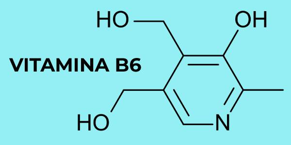 Fórmula química da vitamina B6