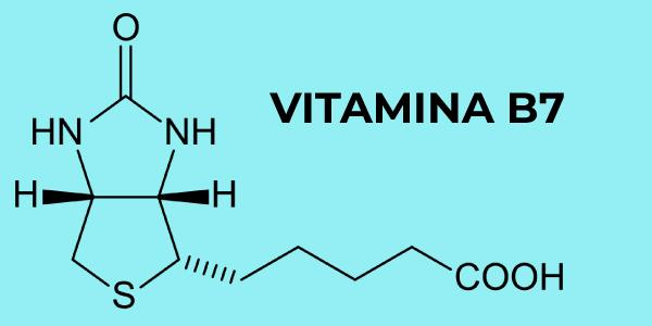 Fórmula química da vitamina B7