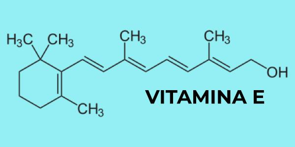 Fórmula química da vitamina E