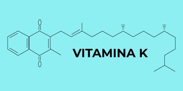 Fórmula química da vitamina K