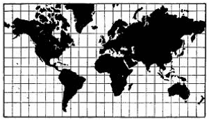 mercator- Exercícios sobre Projeções Cartográficas