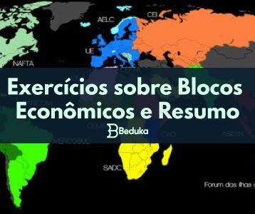 Exercícios sobre Blocos Econômicos