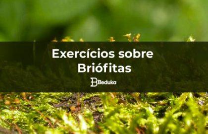 Exercícios sobre Briófitas