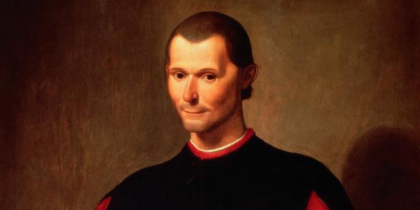 retrato de Maquiavel