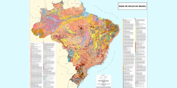 Mapa dos tipos de solo brasileiros
