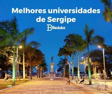 Melhores universidades de Sergipe