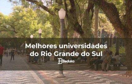 Melhores universidades do Rio Grande do Sul