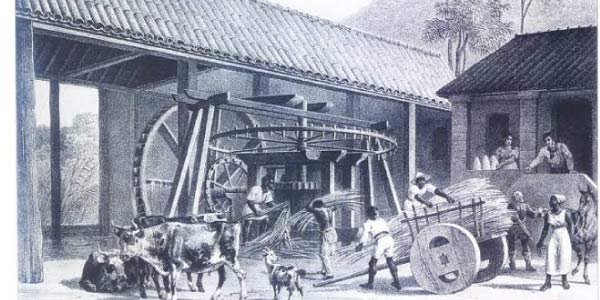 Primeira etapa da Industrialização brasileira - processo artesanal