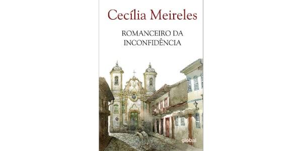 """Capa do livro """"Romanceiro da Inconfidência"""", de Cecília Meireles"""