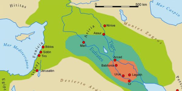 rio tigre e eufrates
