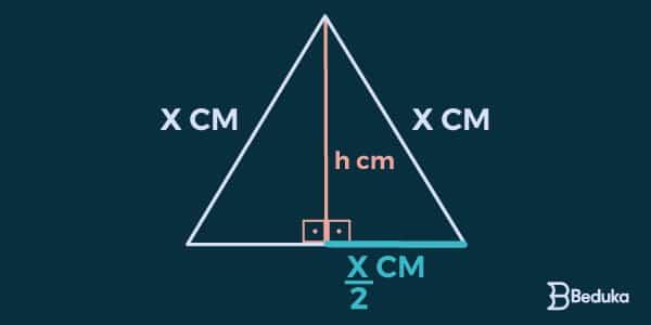 Altura-no-triângulo-equilátero