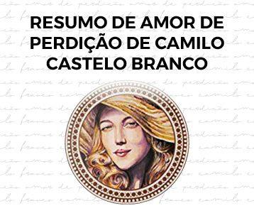 Resumo de Amor de Perdição de Castelo Branco