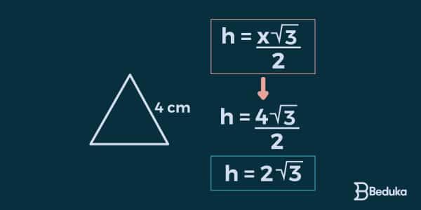 aplicação-da-fórmula-de-altura-em-triângulo-equilátero
