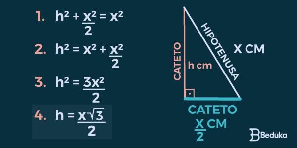 fórmula-da-altura-em-triângulo-equilátero