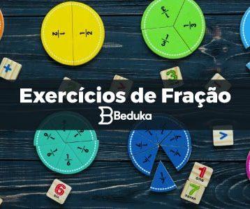 Exercícios de Fração