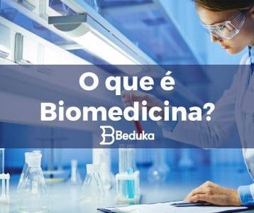 O que é Biomedicina.