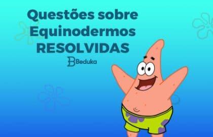Questões_sobre_Equinodermos