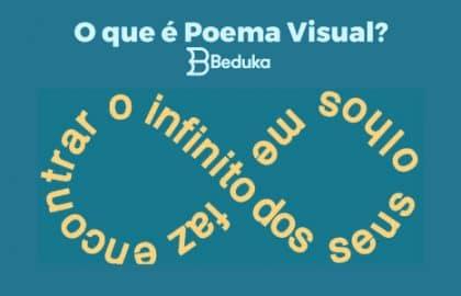 o que é Poema Visual