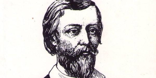 Imagem-de-Gregório-de-Matos-preto-e-branco-ele-possui-barba-e-bigode-e-é-escritor-de-Poemas-Escolhidos