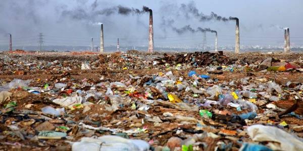 Problema Ambiental: Poluição do solo