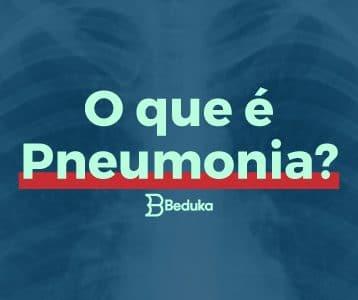 Imagem ao fundo de um Raio X Tudo o que você precisa saber sobre o que é Pneumonia!