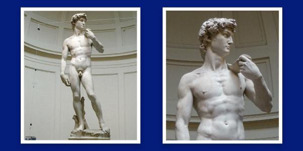 Davi de Michelangelo, obra de escultura renascentista
