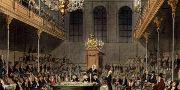 Parlamento durante a Revoluçao Inglesa