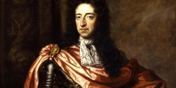 Rei Guilherme III no fim da Revoluçao Inglesa