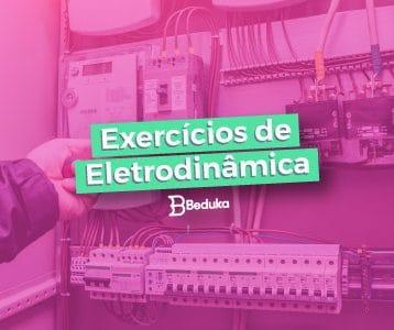 exercícios de eletrodinâmica