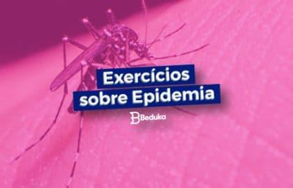 Exercícios sobre Epidemia
