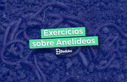 Exercícios sobre Anelídeos