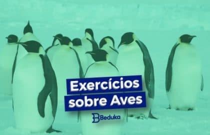 Exercícios sobre Aves