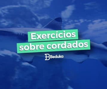 Exercícios sobre Cordados