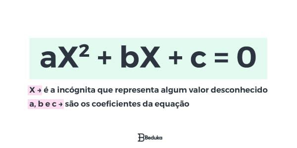 Expressão da Equação do 2° grau