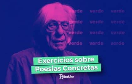 Exercícios sobre Poesias Concretas