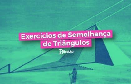 semelhança-de-triângulos